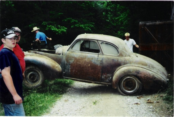 Norman Scott - '40 Chevy Special Deluxe Coupe » P O R  Products