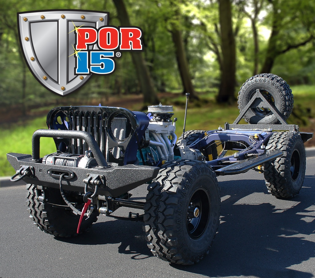 The POR-15 Jeep CJ7 Build