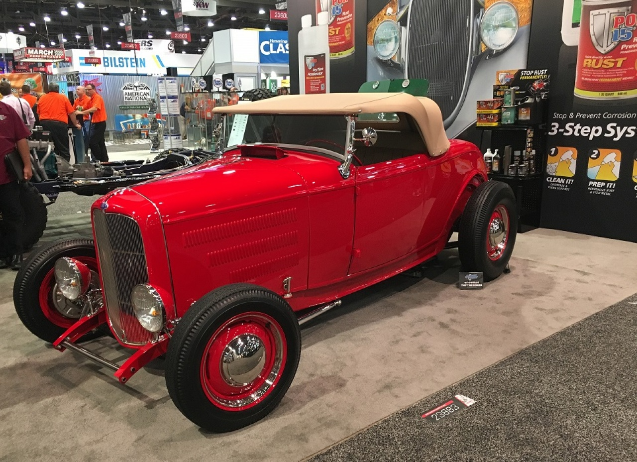 32 Ford Roadster Build Por Products Custom Hot Rod Wiring Harness Completed Returns To Sema