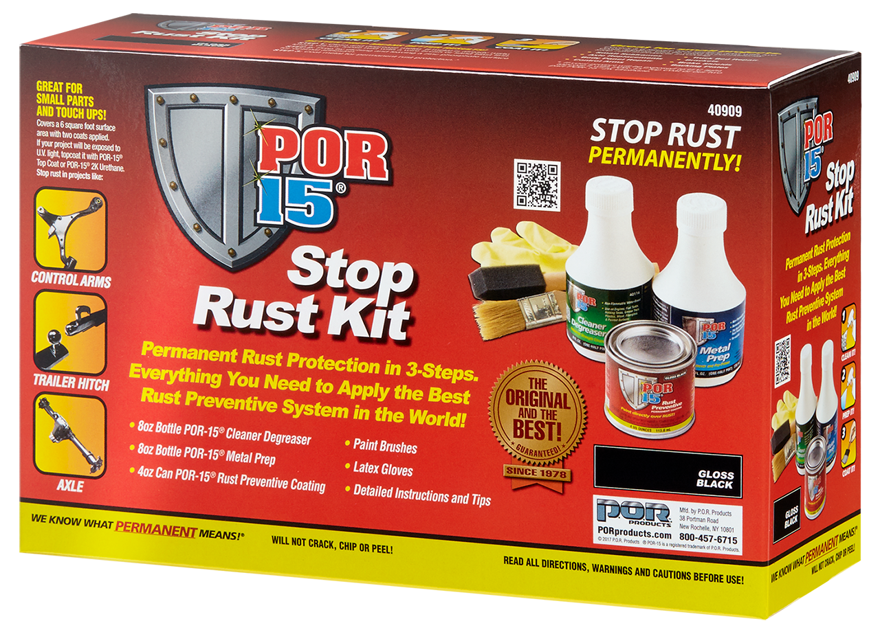 POR-15 Stop Rust Kit » P.O.R. Products